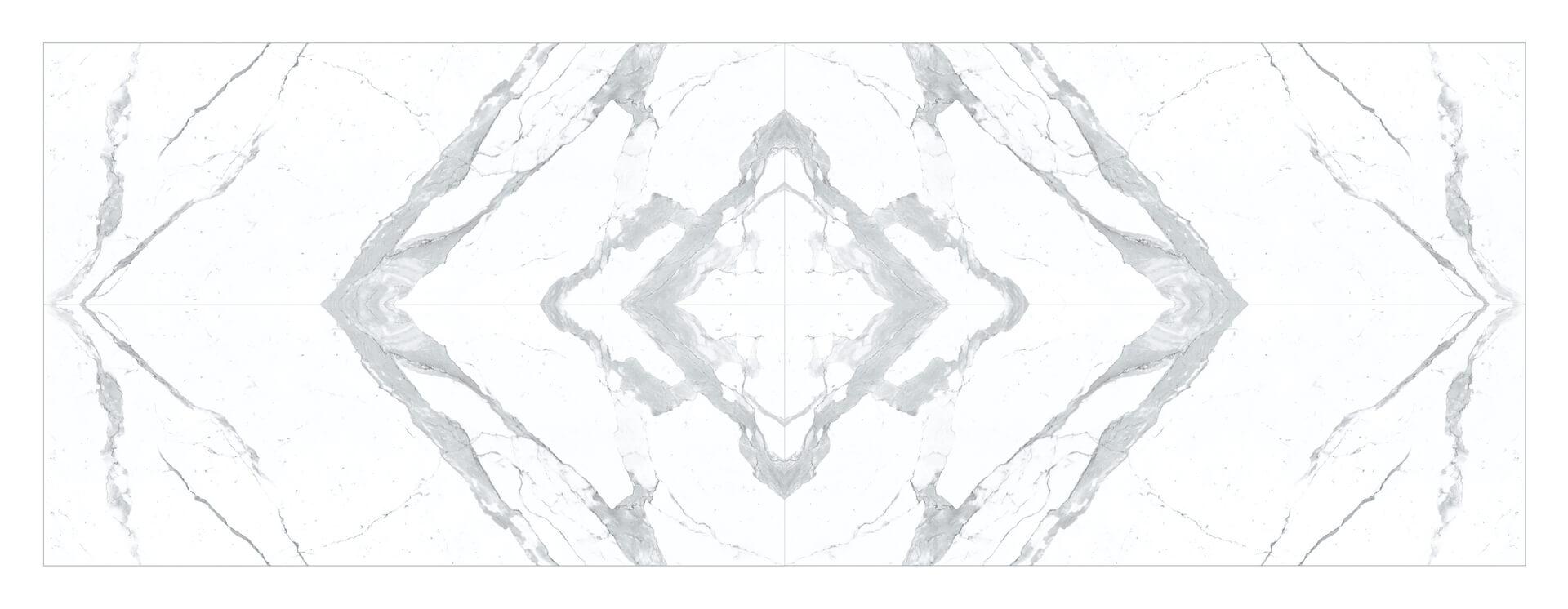 Bianco Statuario Venato Soft Touch Book Match